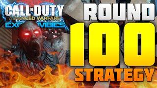 Advanced Warfare Exo Zombies WORLD RECORD   Round 100+