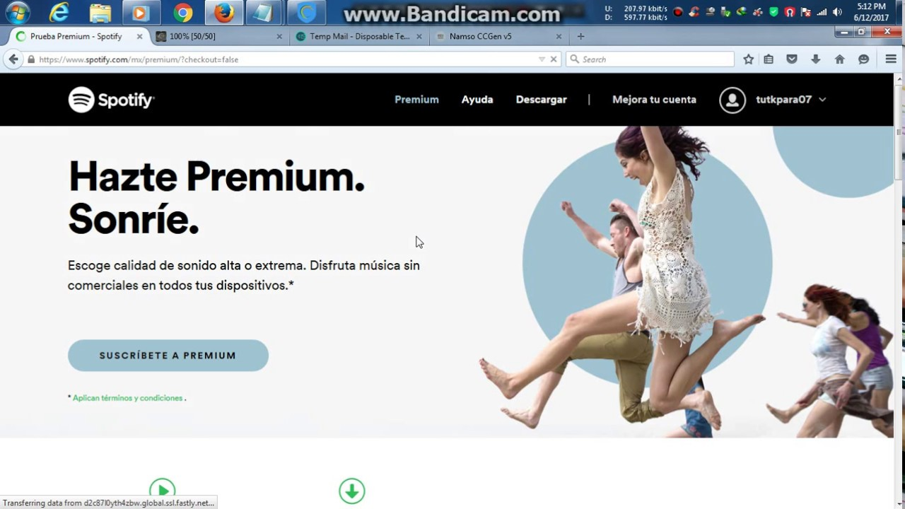 how to card spotify premiumm for 3 months