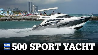 Marquis 500 Sport Yacht In Motion
