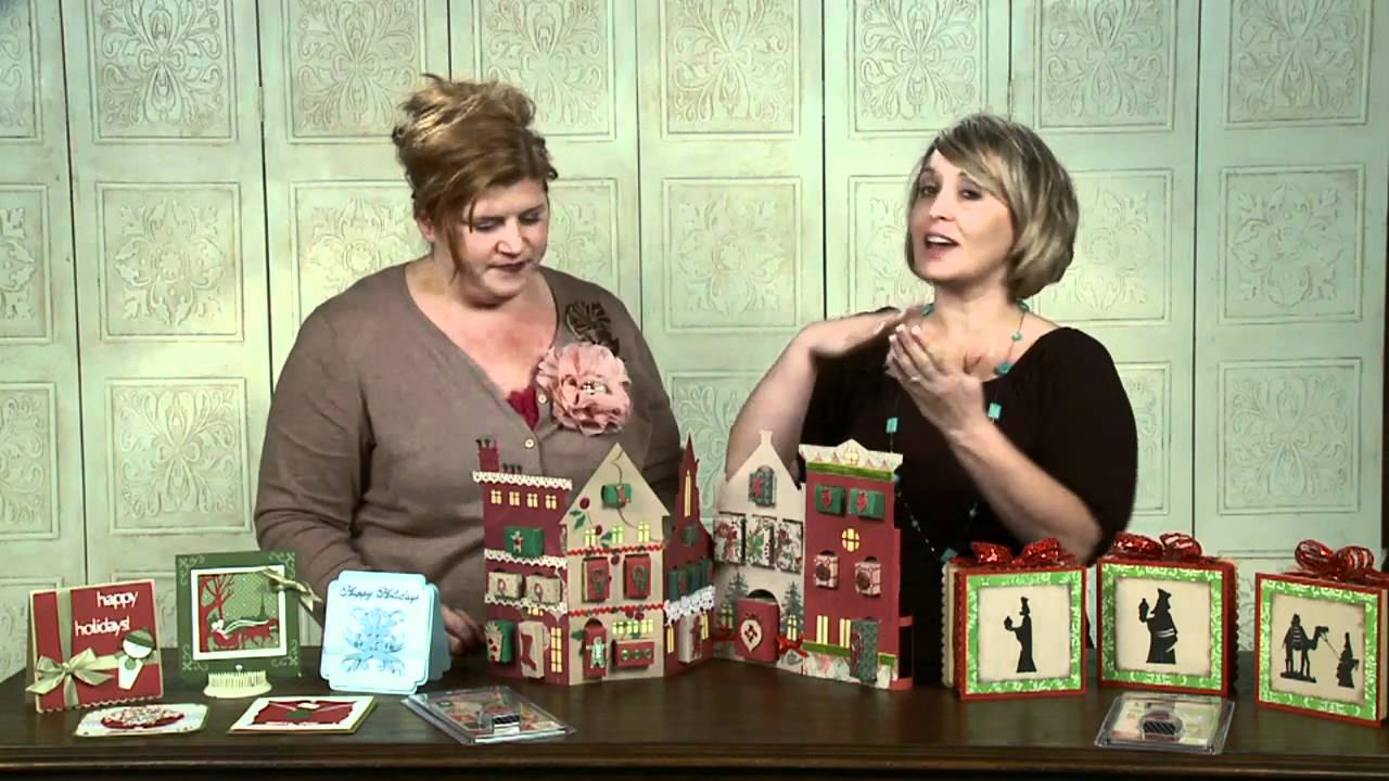 LIMITED EDITION Christmas Cricut Cartridges - YouTube : a quilted christmas cricut cartridge - Adamdwight.com