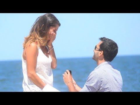 Surprise Beach Proposal!!!