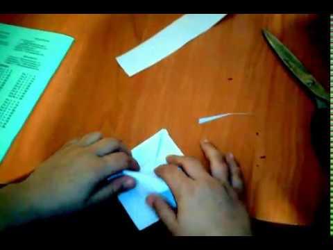 как сделать птичку своими руками оригами