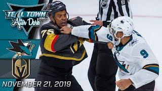 San Jose Sharks @ Vegas Golden Knights - 11/21/2019 - Teal Town USA After Dark (Postgame) Part 2