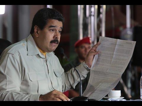 Maduro: Antonio Ledezma fue detenido por órdenes de Fiscalía por delitos contra la paz