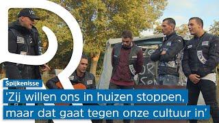 Woonwagenbewoners Spijkenisse weigeren te vertrekken