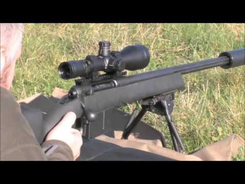 338 Lapua magnum Silencer / Moderator / Supressor Barton Gunworks
