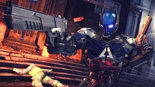 Arkham Knight Predator Map Gameplay