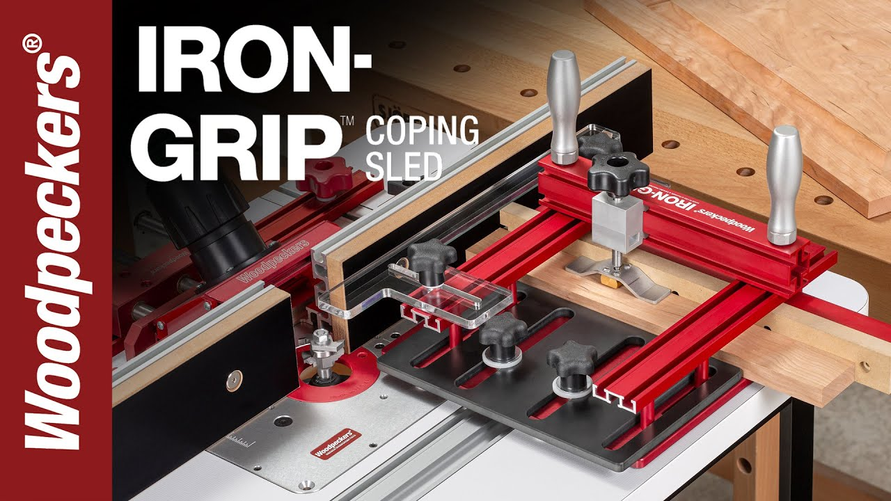 Get An IRON GRIP On Tricky End Grain Router Cuts | Woodpeckers Tools