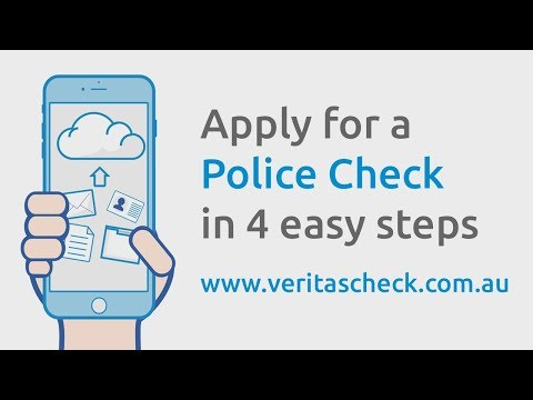 Apply for an National Police Certificate Online | Veritas Check
