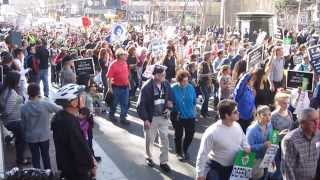 Walk for Life West Coast 2014 Market Street San Francisco California