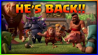 Clash of Clans - The Builder is Back ! Battle Ram, Birthday Boom | Clash of clans 5th anniversary