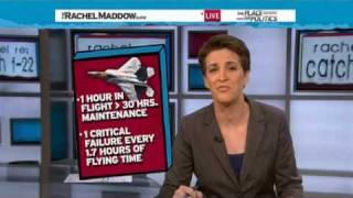 Rachel Maddow-Wasteful F-22 program terminated