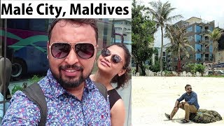 Exploring Male City in Maldives | The Complete City Guide | Hulhumale Beach | Sinamale Bridge
