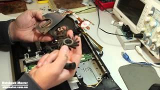 Мигает экран ноутбука - ремонт ноутбука Asus K51AC + полная разборка(В этом видео Вы увидите как разобрать и обслужить ноутбук Asus K51AC. Сам ноутбук который на сервисе - после друг..., 2015-02-18T23:15:29.000Z)