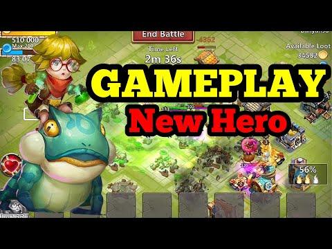 GAMEPLAY New Hero PROFESSOR RIBBIT! Un Eroe OP! | Castle Clash ITA