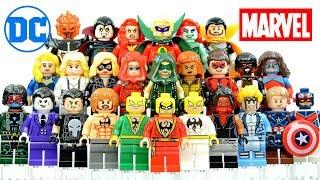 Mavel & DC Iron Fist Elektra Punisher Netflix Defenders Green Arrow  Unofficial Lego Minifigures