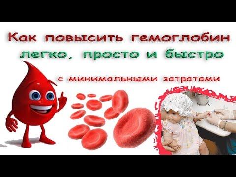 Гемоглобин - как повысить уровень гемоглобина