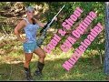 Girl shows you HOW to LOAD and SHOOT CVA OPTIMA MUZZLELOADER! GIRLS first time;)
