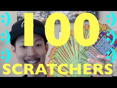 ENTIRE 100 TICKET ROLL OF LOTERIA $3 SCRATCHERS!!!