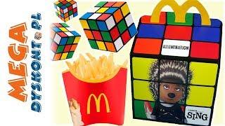 HAPPY MEAL • Kostka Rubika • zabawki • McDonald's • 2018