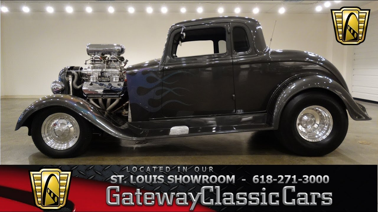 1934 Dodge Street Rod - Gateway Classic Cars St. Louis - #6620 - YouTube