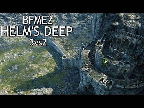 LOTR: BFME2 - The Battle For Helm's Deep! With 100% More Mac!