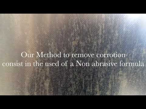 Metal Stain Removal NYC, Stainless Steel Facade Stain Removal NYC, Alucobond stain removal,