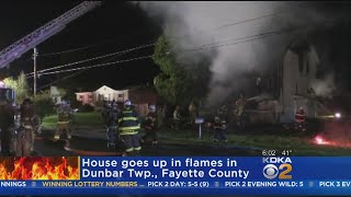Crews Battle Fayette County Fire For Five Hours