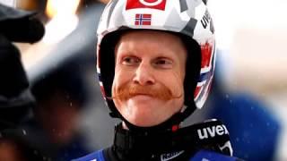 Robert Johansson is a Norwegian ski jumper with moustache at 2018 Winter Olympics, PyeongChang