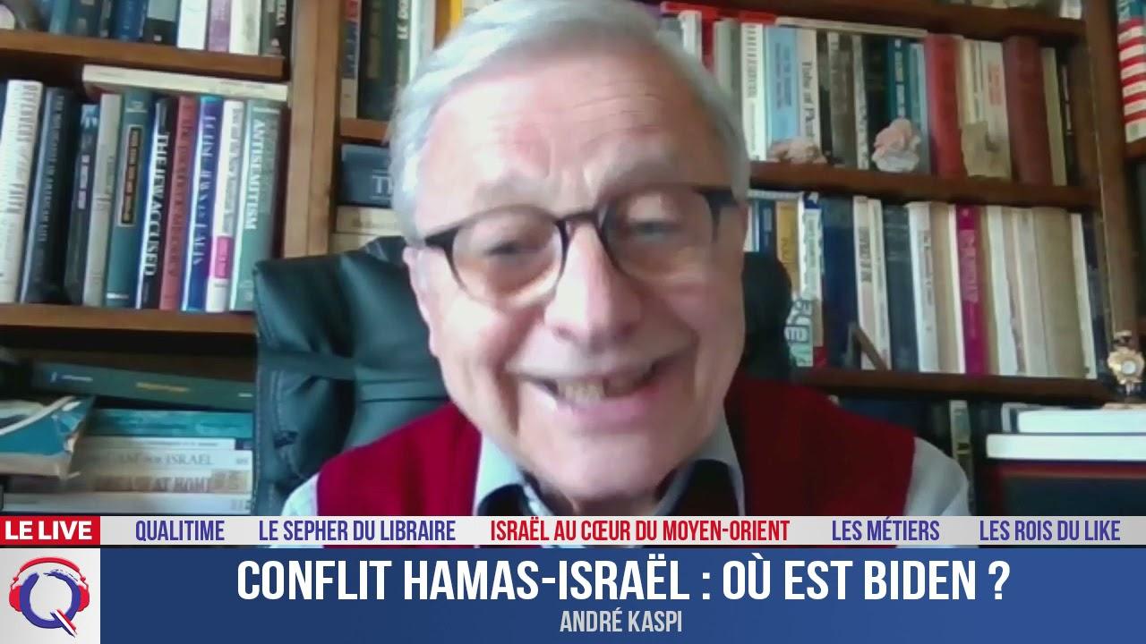 Conflit Hamas-Israël : où est Biden ? - IMO#137