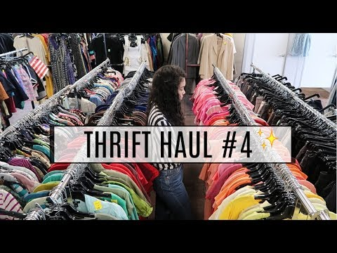 Thrift Haul + Try On | Salvation Army | Ep # 4