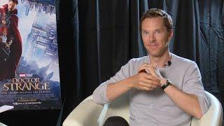 Benedict Cumberbatch Talks About Doctor Strange