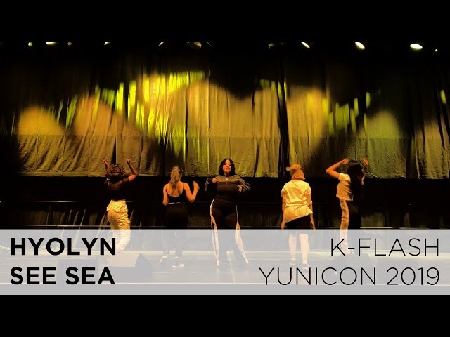 Hyolyn - See Sea | Live Cover:  K-FLASH @ Yunicon 2019