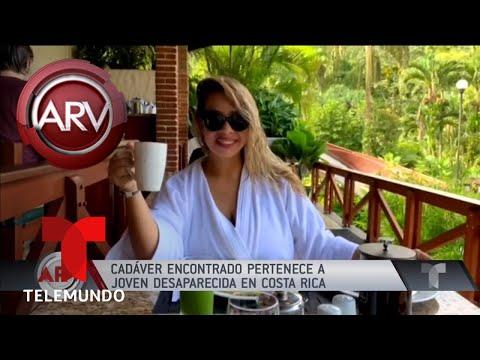 Cad�ver encontrado es de joven desaparecida en Cosa Rica | Al Rojo Vivo | Telemundo