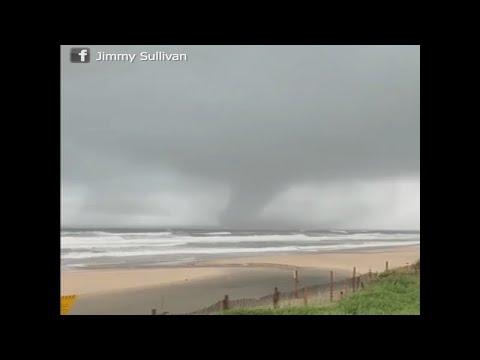 Part 1 Tornado Destruction Touchdown WoW Emerald Island, North Carolina Live Coverage!