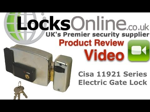 hqdefault cisa 11921 electric door gate lock locksonline product review cisa electric lock wiring diagram at n-0.co