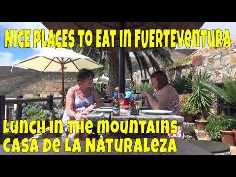 Nice places to eat in Fuerteventura - Casa De La Naturaleza