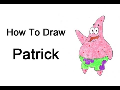 How To Draw Patrick Star
