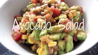 Foodie: Quick+easy+healthy Avocado Salad