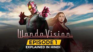 WandaVision Episode 1 in Hindi    #SankshiptMeMCU Thumb