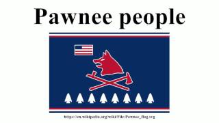 Pawnee people