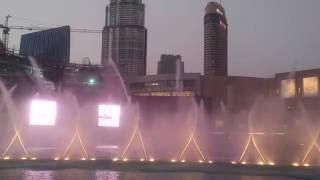 Dancing Water - Dubai Mall - Take me to your heart