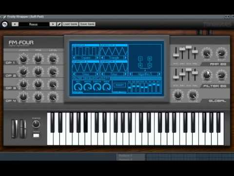 Download Free 4 operators FM synth plug-in: FM-Four by ToneBytes