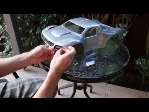 Prep & Painting a RC 1/10 Body for Short Course