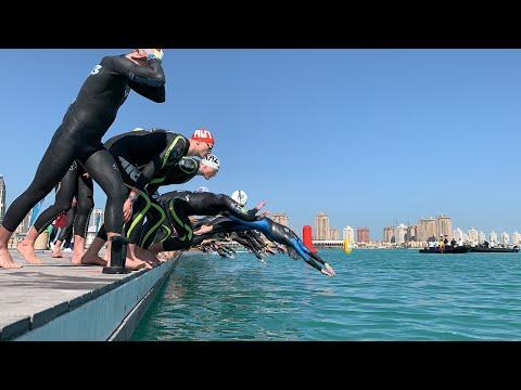 DOHA - Men's Elite 10km Open Water Swim Race - FINA Marathon Swim World Series.  🏊🏽♂️🏊🏽♂️🏊🏽♂️