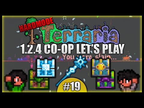 Opening The Dungeon Chests! Blizzard Staff! || Terraria Co-Op Survival [Episode 19]