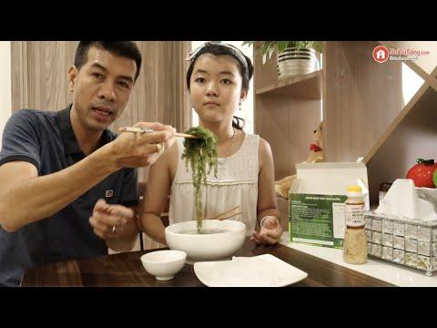 Review rong nho Sabudo có ngon thật không? Rong nho Sabudo ăn có tanh, có mặn, có dễ ăn không?