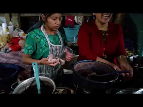 STREET FOOD Guatemala Travel-Antigua