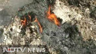 Sacks Full Of Burnt 500 And 1,000 Rupee Notes In Uttar Pradesh