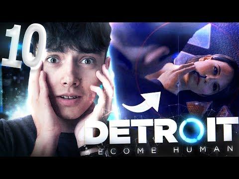 ZEPSUŁEM CAŁY ROZDZIAŁ 😩😮 - Detroit: Become Human #10 | JDabrowsky